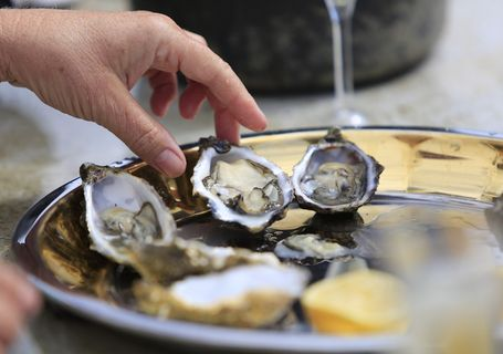 OYSTER TASTING (october to june)