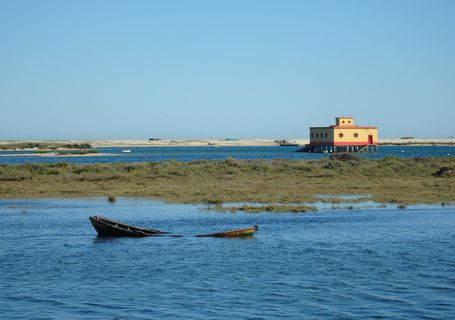 """The length & breadth of Ria Formosa"""